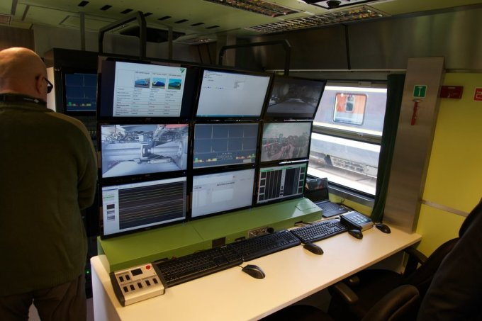The control center...