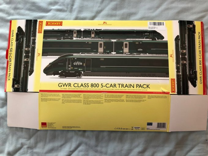 No nonsense package from Hornby. Much more consumer friendly than some of the packaging from Roco or Fleischmann. Photo by Ralf Meier