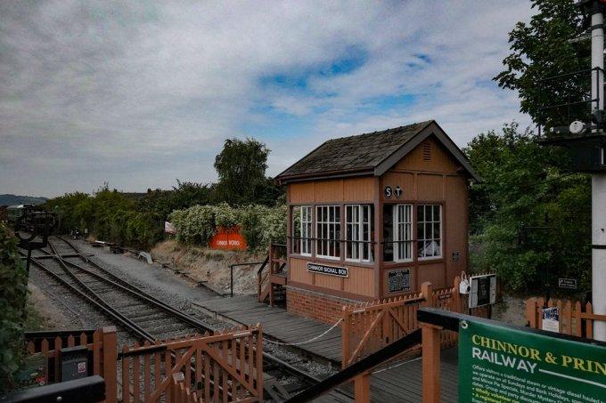 The Chinnor and Princes Risborough Railway signal box